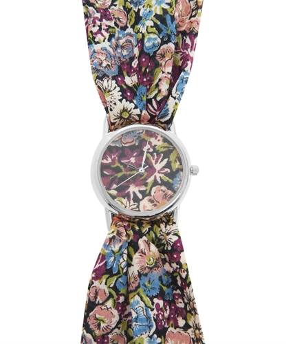 Chive Liberty Print Knot Watch Shop more Liberty Print Knot Watches at Liberty co uk