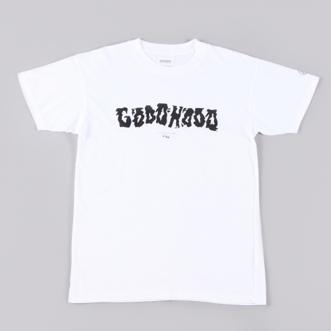 Goods By Goodhood Destroy Goodhood T Shirt White