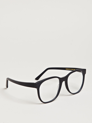 Larke Unisex Horne Matt Black Glasses Ln Cc