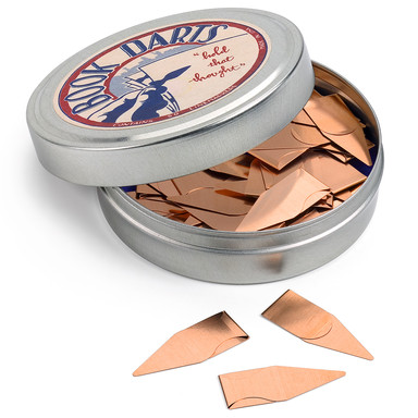 Flat Copper Page Markers Manufactum