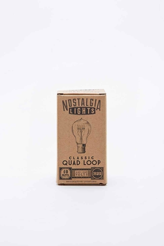 Nook London Nostalgia Classic Bay Quad Loop Bulb Urban Outfitters