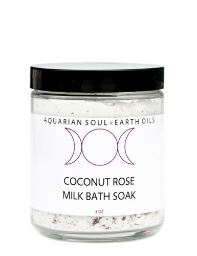 Coconut Rose Milk Bath Leif