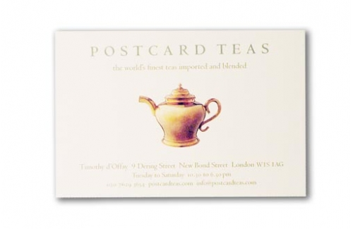 Postcard Teas Set of Four Tastings Session