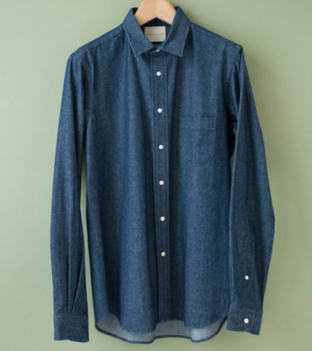 002 Regular Denim Shirt C'h'c'm'