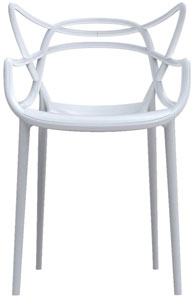 kartell masters chair white ABC Carpet Home
