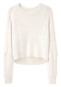 3 1 Phillip Lim Cropped Body Mapped Pullover La Garconne