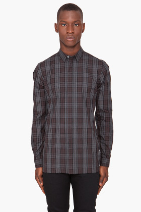 Kris Van Assche Plaid Shirt for men SSENSE