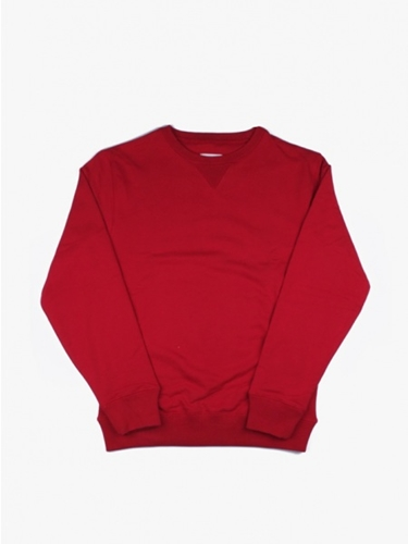 Saturdays Bowery Fleece Red