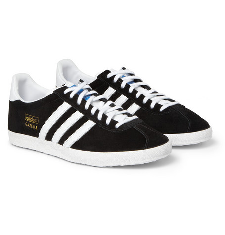 Adidas Originals Gazelle Og Suede And Leather Sneakers Mr Porter