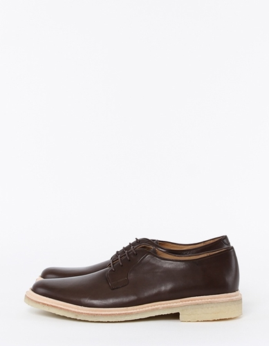 A P C Derby Crepe Sole Shoes Nitty Gritty Store