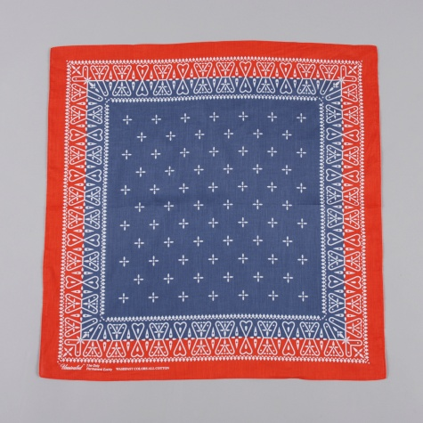 Unrivaled Bandana Navy Red