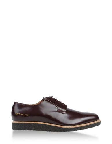 Common Projects Laced Shoes Common Projects Footwear Men Thecorner.Com