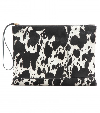 Mytheresa.Com Animal Print Calf Hair Clutch Clutch Bags Bags Marni Luxury Fashion For Women Designer Clothing Shoes Bags