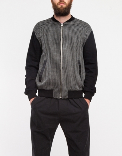 Knit Bomber Jacket