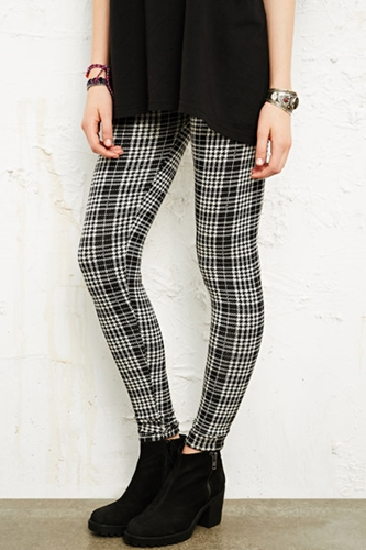 Bdg Tartan Leggings At Urban Outfitters