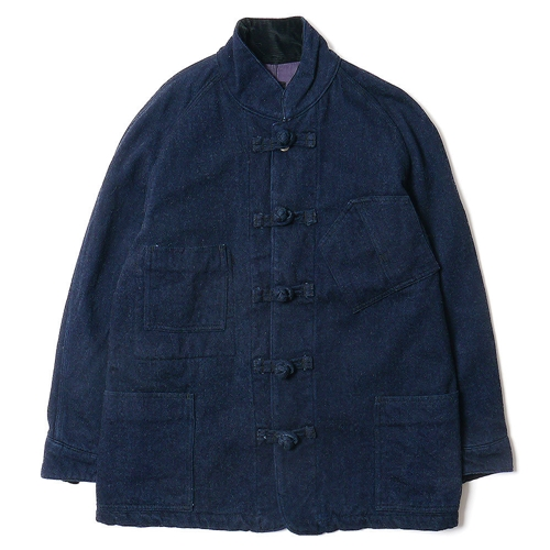 Haven Wool Denim Coverall Jacket China Button