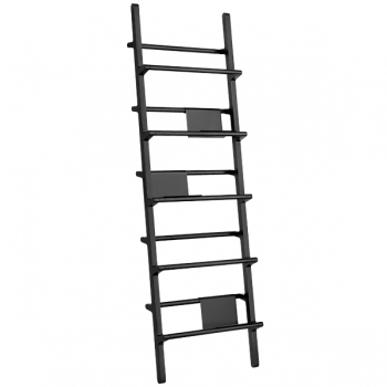 Verso Shelf 56 Black Bookcases Furniture Finnish Design Shop