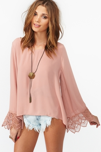 Belladonna Crochet Top in What s New at Nasty Gal