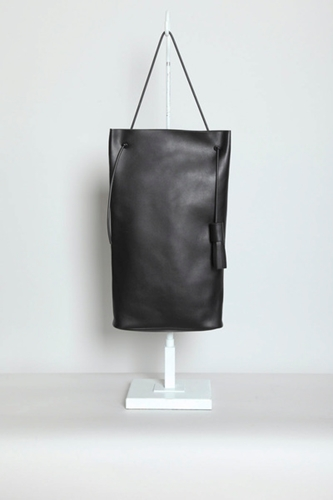 TOTOKAELO Building Block Tall Tote Bag Black