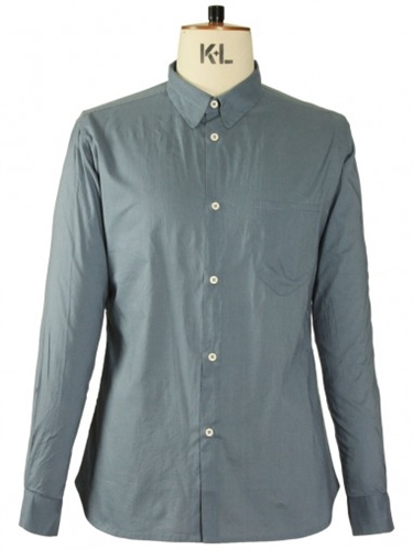 Universal Works Simple Shirt Slate Shirts Universal Works