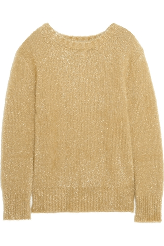 Fancy Metallic Knitted Sweater Carven 55 Off The Outnet