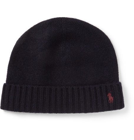 Polo Ralph Lauren Cashmere And Wool Blend Beanie Hat Mr Porter