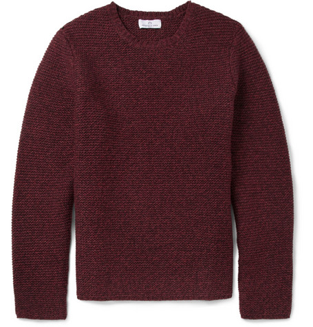 Hentsch Man Ribbed Wool Blend Sweater Mr Porter