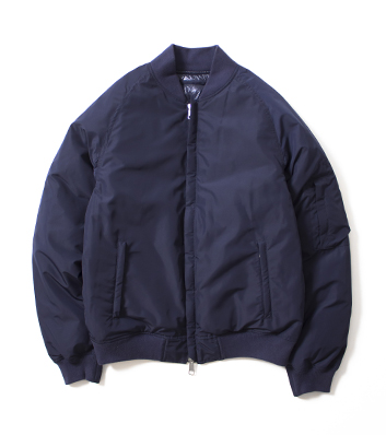 Nanamica Reversible Varsity Down Jacket