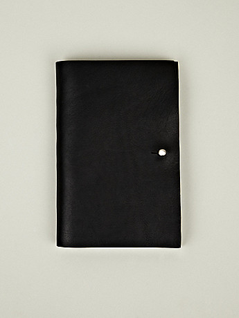 Rick Owens Men s Plain Cover Wallet in black at oki ni