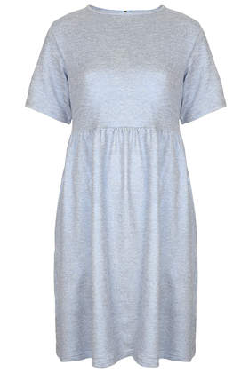Metallic Jersey Smock Dress By The Whitepepper Clothing Topshop