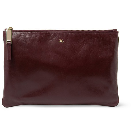 Jil Sander Leather Pouch MR PORTER