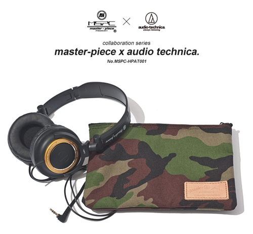 master piece MSPC PRODUCT master piece audio technica collaboration series