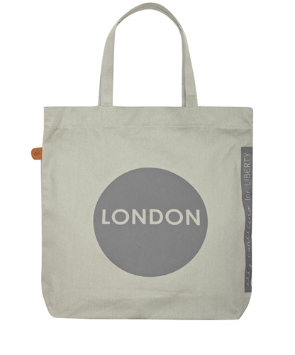 Grey London Tote Bag Ally Capellino Shop the latest Ally Capellino collection at Liberty co uk