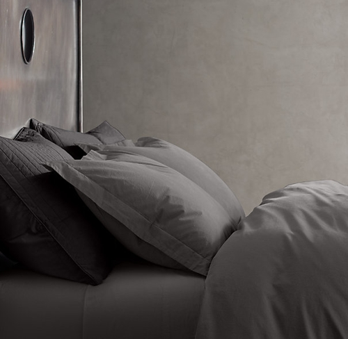 Garment Dyed Percale Bedding Collection