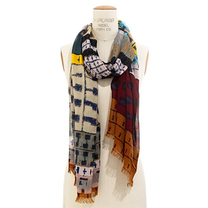 Colortread Scarf accessories Women s NEW ARRIVALS Madewell