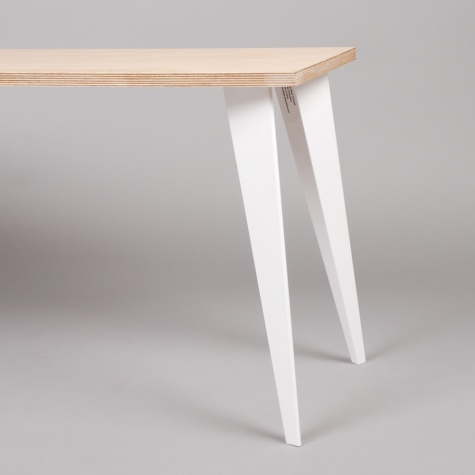 Petites Production Pair Low Table Legs White