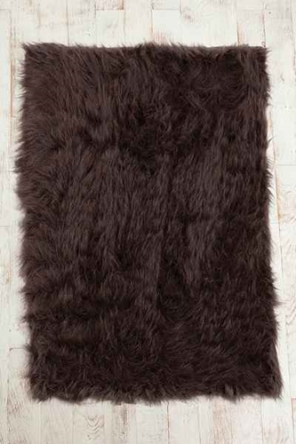 Faux Sheep Skin Rug Urban Outfitters