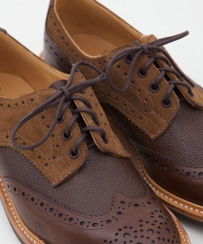 Tricker's X Superdenim Crazy Derby Brogue Superdenim