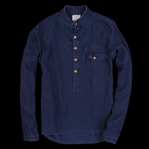UNIONMADE Billy Reid Heirloom Cooper Shirt in Blue