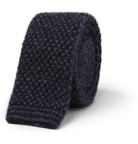Paul Smith Shoes Accessories Flecked Knitted Tie MR PORTER