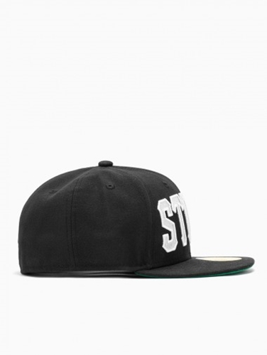 Home Team Cap From F W2014 15 New Era X Stussy Collection In Black
