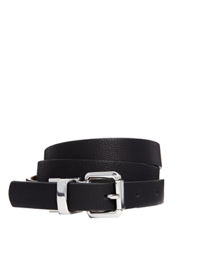 Asos Asos Reversible Buckle Waist And Hip Belt At Asos