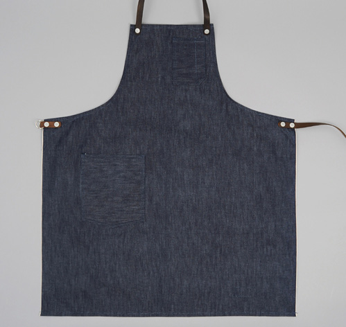 Standard Apron Indigo Denim Hickoree's