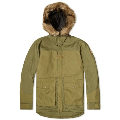 Fjallraven Barents Parka Green