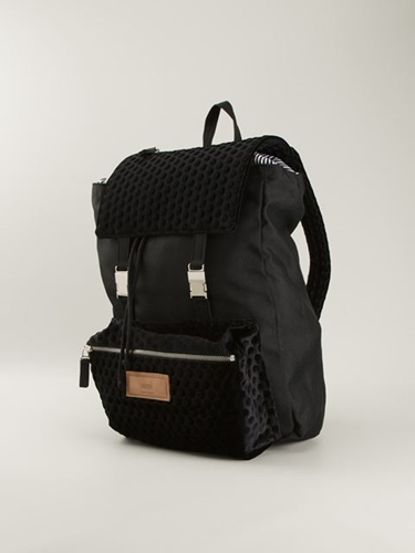 Ami Alexandre Mattiussi Front Pocket Backpack Soulland Farfetch.Com