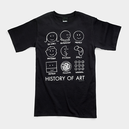 History Of Art T Shirt Moma Store