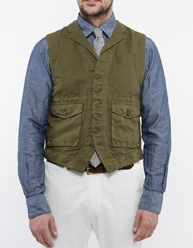 Slowear Cotton Linnen Vest Nitty Gritty Store