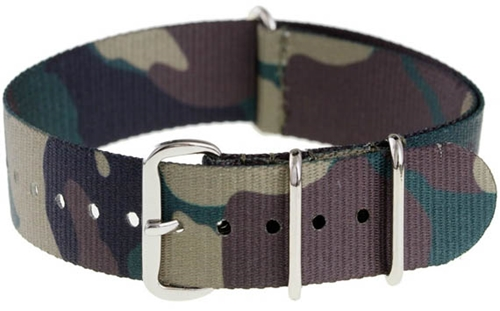 Camo Watch Strap Cool Material