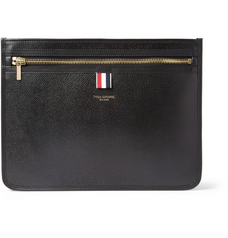 Thom Browne Leather Document Holder Mr Porter