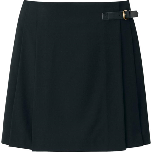 Women Wool Blended Skirt Uniqlo